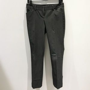 Express Editor Pants 2S Gray